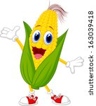 Illustration Of A Sweet Corn...
