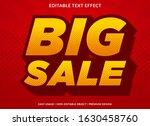 big sale text effect template... | Shutterstock .eps vector #1630458760