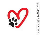 Animal Love Symbol  Pet Paw...