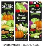 vegetables and farm veggies ... | Shutterstock .eps vector #1630474633