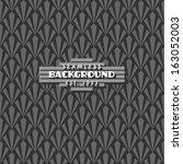 seamless vintage art deco... | Shutterstock .eps vector #163052003