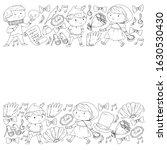 illustration of a children's... | Shutterstock .eps vector #1630530430