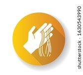 hair strands on hand yellow... | Shutterstock .eps vector #1630543990