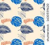 print summer seamless vector... | Shutterstock .eps vector #1630559620