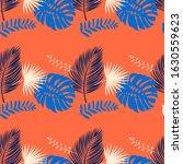 print summer seamless vector... | Shutterstock .eps vector #1630559623
