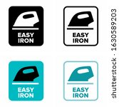 easy iron and glide information ... | Shutterstock .eps vector #1630589203