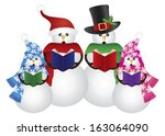 Snowman Family Christmas...