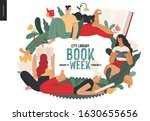 world book day graphics  book... | Shutterstock .eps vector #1630655656
