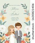 Save The Date   Cute Bride And...