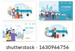 city excursions  traveling with ... | Shutterstock .eps vector #1630966756