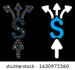 glowing mesh divide payments... | Shutterstock .eps vector #1630972360