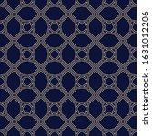 seamless simple geometric... | Shutterstock .eps vector #1631012206
