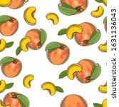 colored seamless pattern with... | Shutterstock .eps vector #1631136043