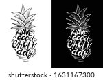 """Vector Lettering Of The Phrase """"..."""