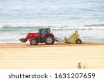 Beach Comber Tractor Cleaning...