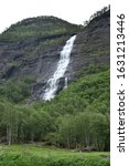 Small photo of Skjolden, Norway, Jun 06, 2019, Skjolden is a village in the municipality of Luster in Vestland county, Norway. It is located at the end of the Lustrafjorden, a branch of the Sognefjorden. Skjolden