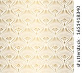 art deco pattern. seamless... | Shutterstock .eps vector #1631418340