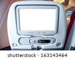 lcd monitor on passenger seat | Shutterstock . vector #163143464