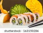 Fancy California Crab Roll With ...