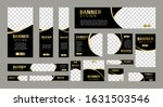 set of creative web banners of... | Shutterstock .eps vector #1631503546