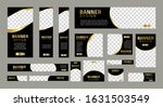 set of creative web banners of... | Shutterstock .eps vector #1631503549