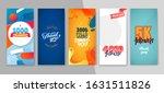 trendy editable template for...   Shutterstock .eps vector #1631511826