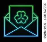 envelope  letter  trefoil icon...