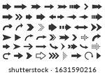 arrow icon. mega set of vector... | Shutterstock .eps vector #1631590216