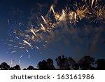 fireworks | Shutterstock . vector #163161986