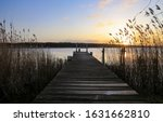 Old Wooden Pier At Small...