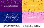 Congratulations Confetti Banner....