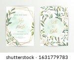 watercolor wedding set. set of... | Shutterstock .eps vector #1631779783