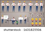 engineer or architect worker... | Shutterstock .eps vector #1631825506