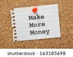 Постер, плакат: The phrase Make More