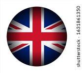 uk great britain flag icon... | Shutterstock .eps vector #1631861350