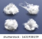 realistic cotton wool  clouds... | Shutterstock .eps vector #1631938159