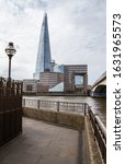 Small photo of LONDON - MAY 29, 2019: The Shard skyscraper in Southwark, London, England. Also known as Shard of Glass, Shard London Bridge or London Bridge Tower.