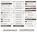 Set Of Title Index Tmplete