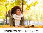 Autumn Outdoor Portrait Of...