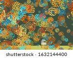 light blue  yellow vector... | Shutterstock .eps vector #1632144400