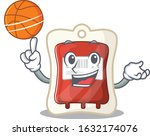 a mascot picture of blood bag... | Shutterstock .eps vector #1632174076