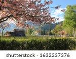 Spring Rural Landscape. In The...