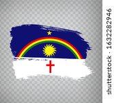 flag of  pernambuco from brush...