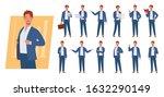 business man character set....   Shutterstock .eps vector #1632290149