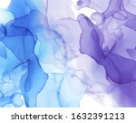 alcohol ink texture. abstract... | Shutterstock .eps vector #1632391213