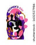 international women's day....   Shutterstock .eps vector #1632527986