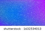 color circuit board texture for ...   Shutterstock .eps vector #1632534013