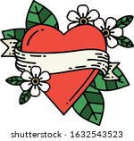 tattoo in traditional style of... | Shutterstock .eps vector #1632543523