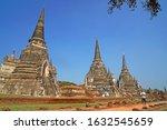 ayutthaya   thailand   30... | Shutterstock . vector #1632545659
