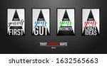 typographic design for trust... | Shutterstock .eps vector #1632565663